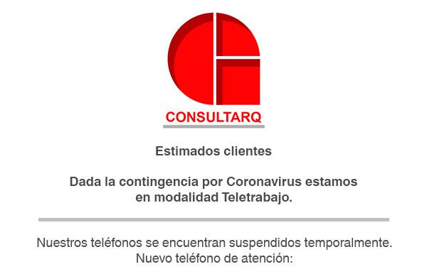 Teléfono por Covid-19